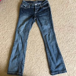 Boot cut jeans in good condition